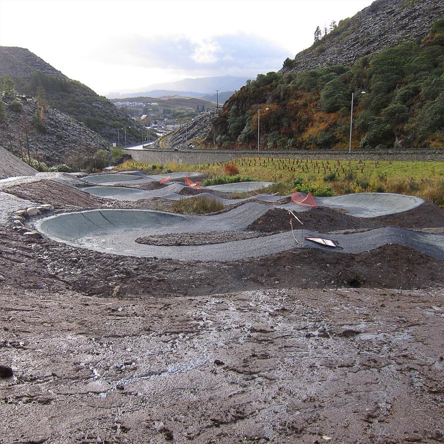 Antur Stiniog pump track