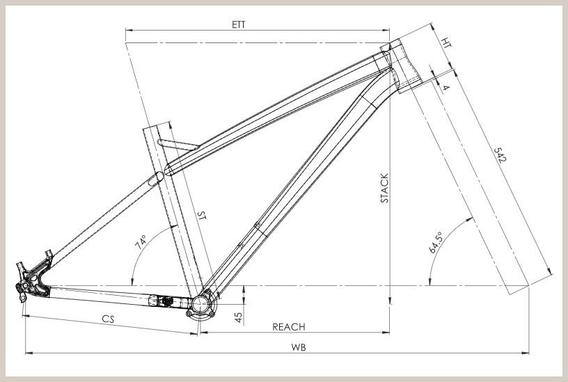 Bird Zero AM Mk3 (Boost) geometry