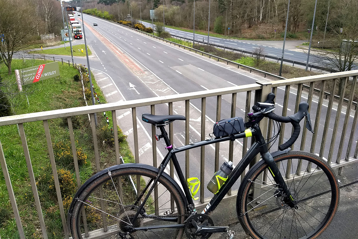Cannondale Topstone and a near empty A3