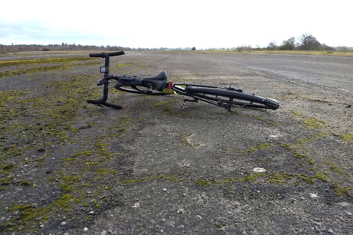 Cannondale Topstone on Wisley airfield