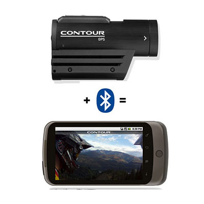 ContourGPS now enabled with Bluetooth