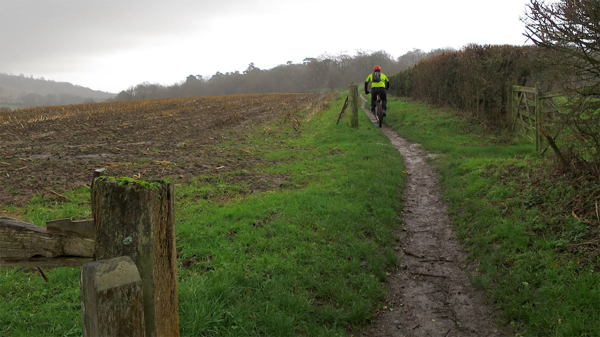 Dave solo on Abinger Roughs