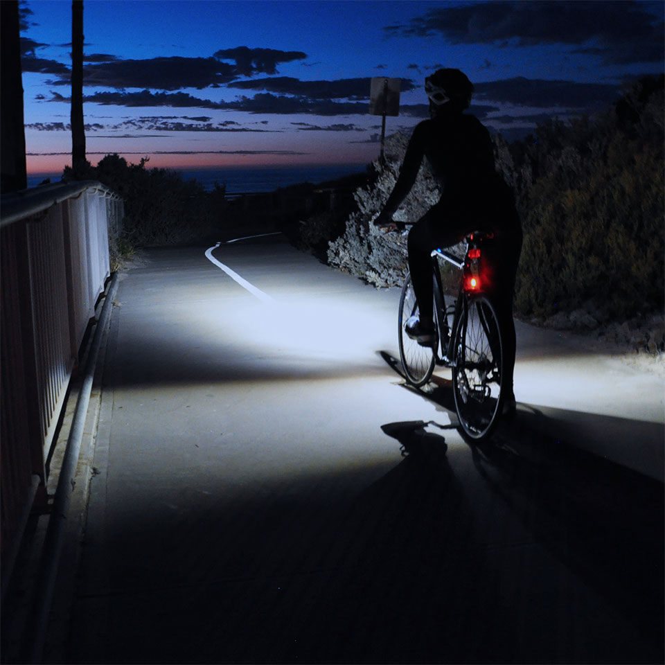 Ding Bike Lights - see all round