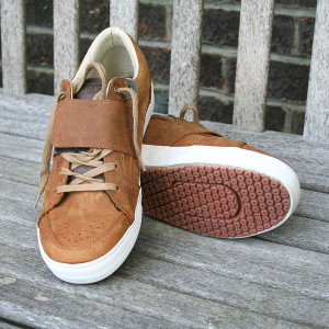 DZR Dice trainers in tan