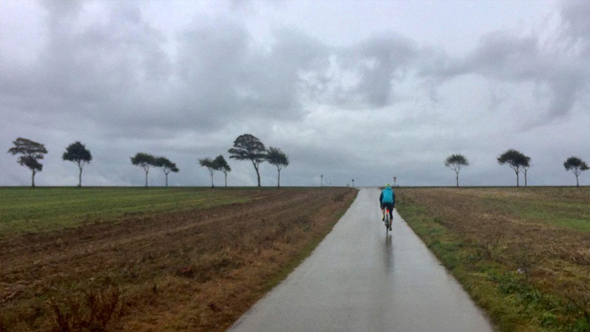 Rain near Desvres