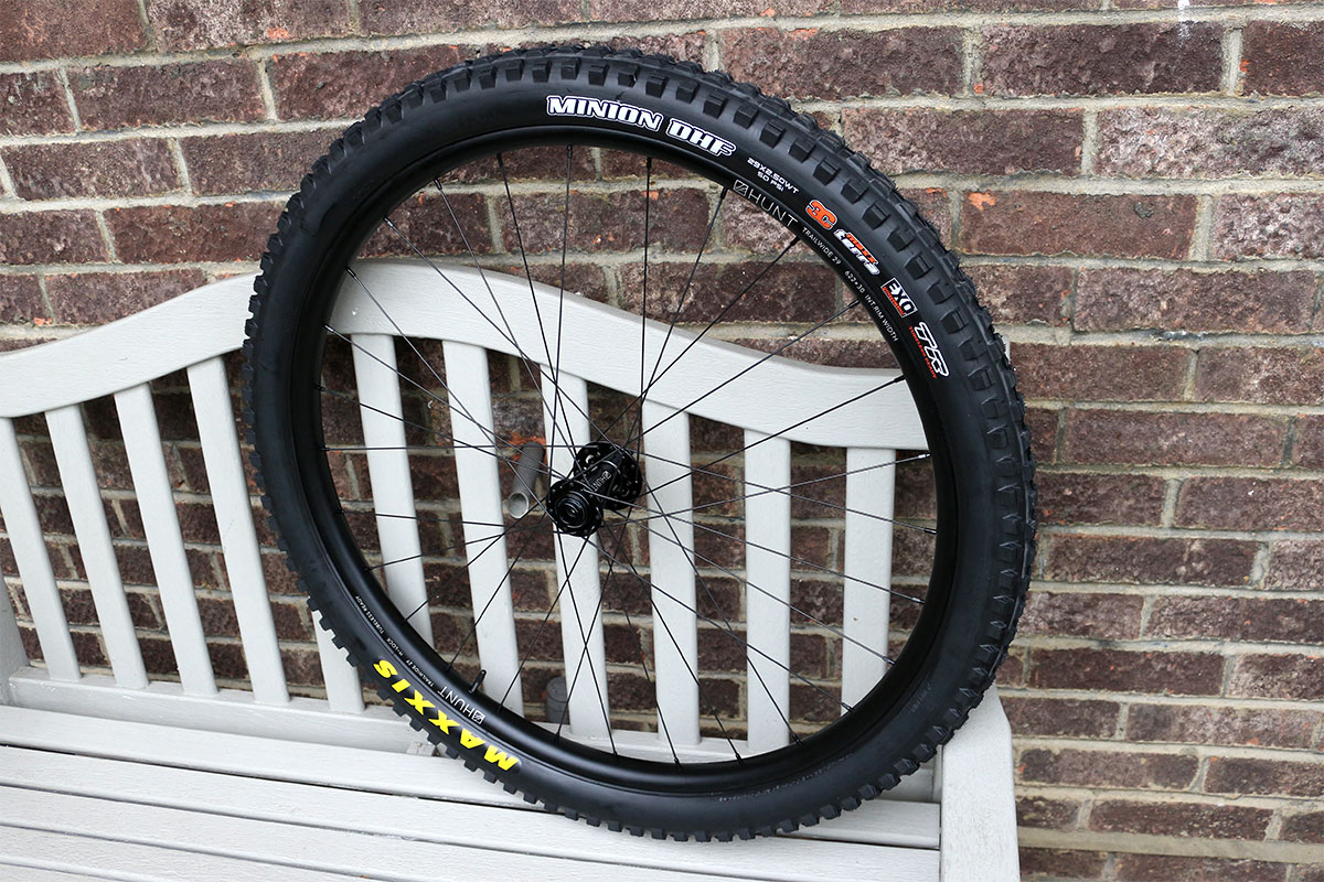 Maxxis Minion DHF on Hunt Trail Wide rims