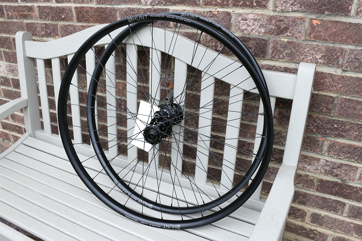 Hunt Trail Wide 29er wheelset