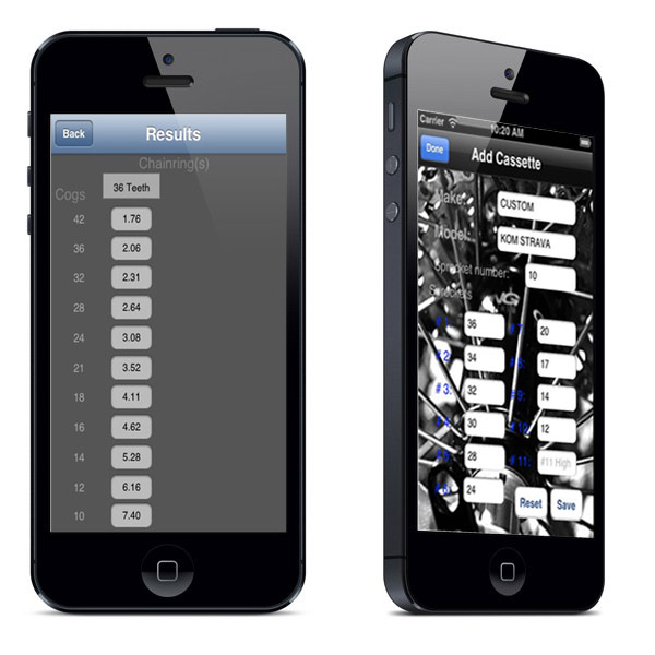 iGear calculator for iPhone