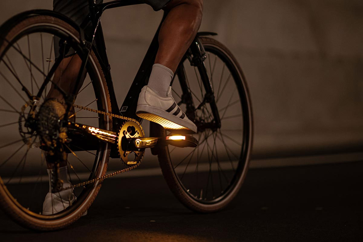 Look City Geo pedals with lights