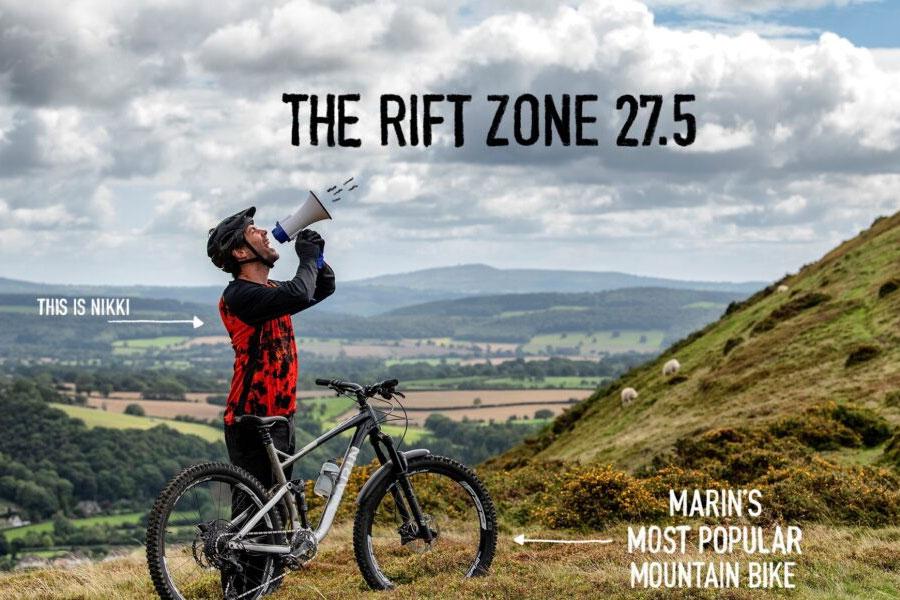 The Marin Hawk Hill / Rift Zone 27.5
