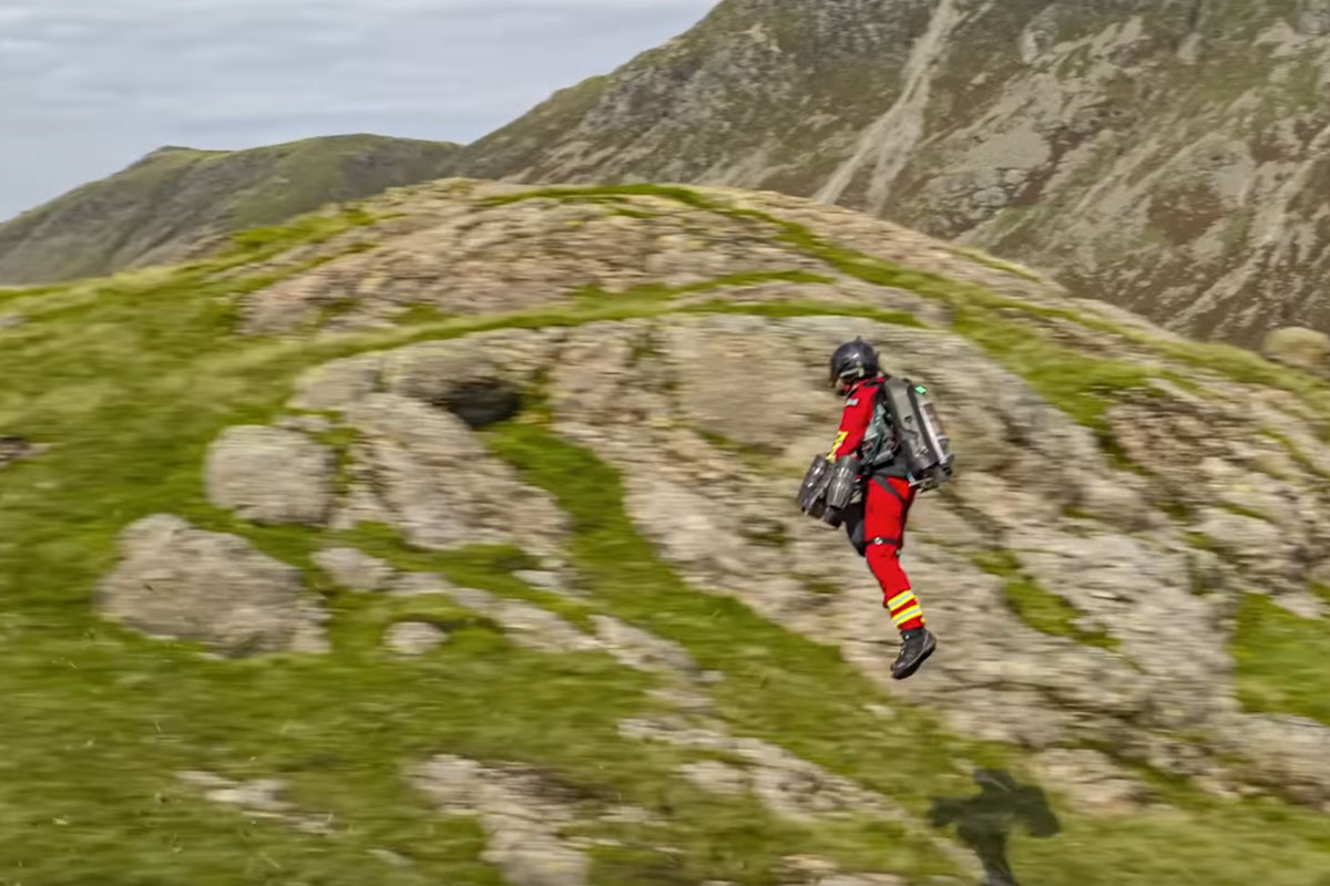 Mountain Rescue Jet Pack