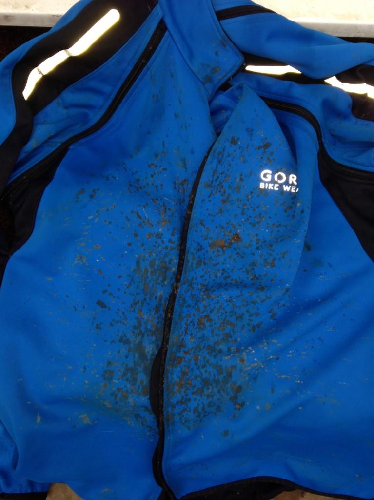 Muddy jersey