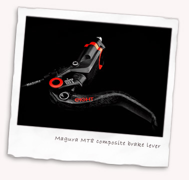 Magura MT8 composite brake lever