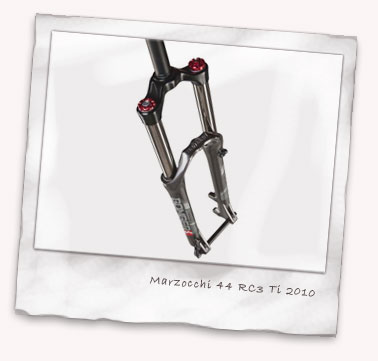 Marzocchi 44 RC3 Ti coil fork for 2010