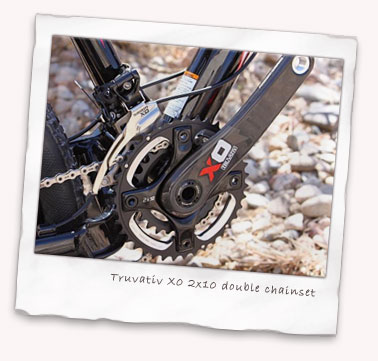 Truvativ X0 2x10 double chainset