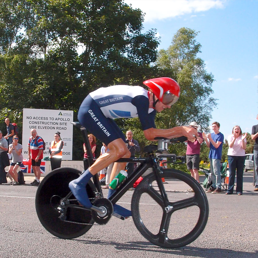 Bradley Wiggins 2012 Olympic Time Trial
