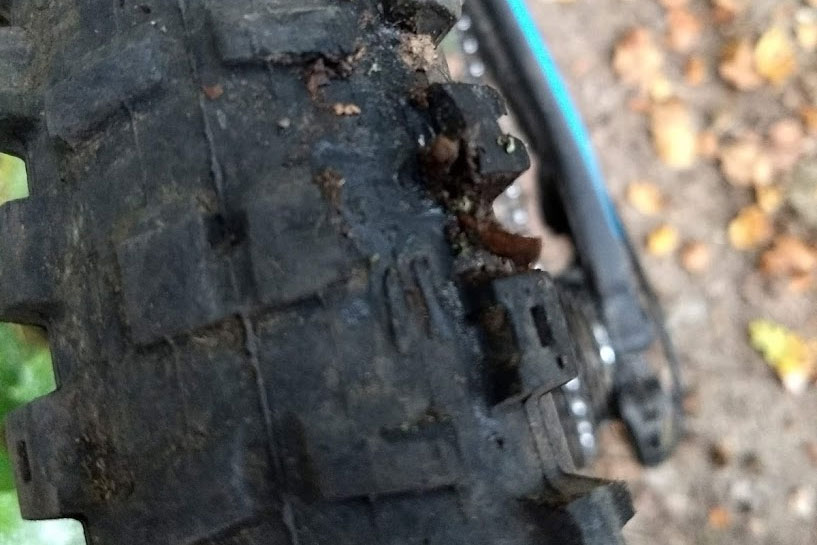 Catastrophic damage to Onza Ibex side knob