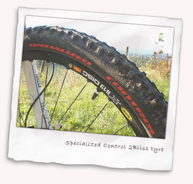 Specialized Storm Control 2Bliss (tubeless) tyres close up
