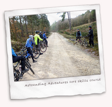 Astounding Adventures - core skills course at Holmbury St. Mary