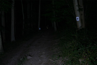 Lumicycle LED System 3 (LEDSys3) Low beam shot