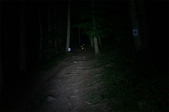 Lumicycle LED System 4 (LEDSys4) Low beam shot
