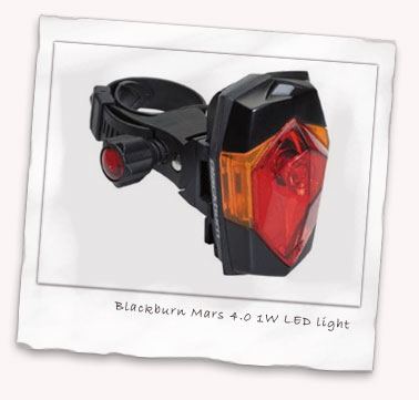 Blackburn Mars 4.0 1W LED rear light