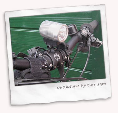 Onethelite P7 LED bike light