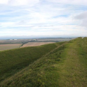 Barbury Castle on the Ridgeway