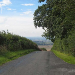 Looking back at Britwell Hill