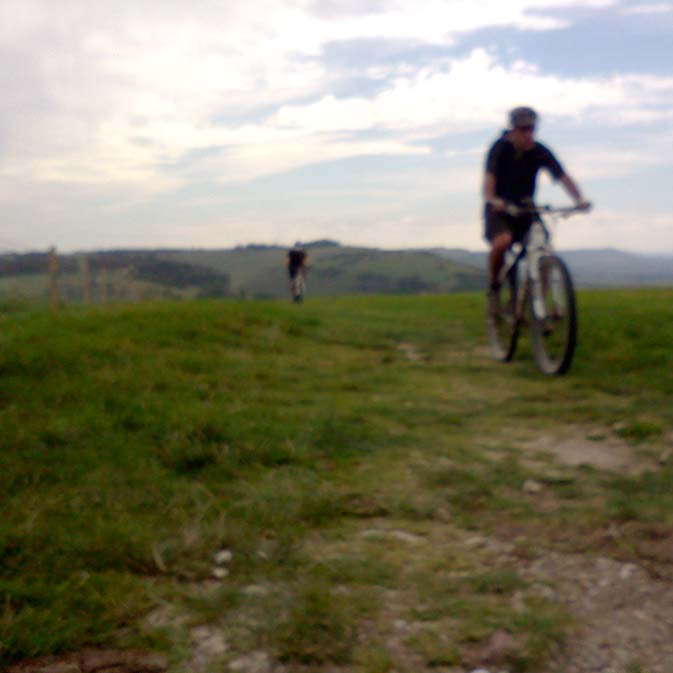 Big painful hills on the South Downs Way