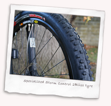 Specialized Storm Control 2Bliss (tubeless) tyres