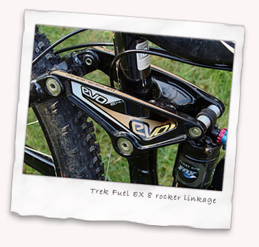 Trek Fuel EX 8 rocker linkage
