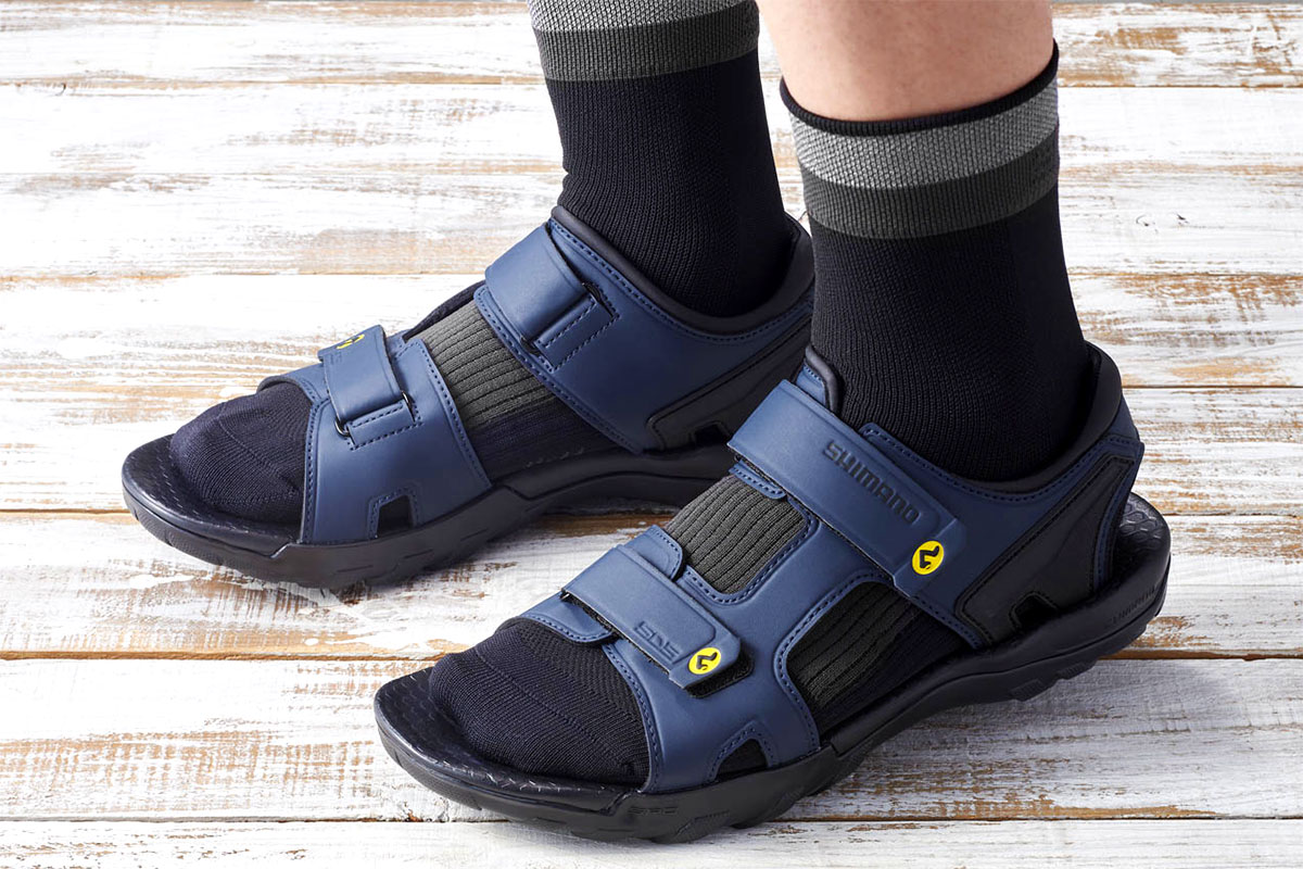 Shimano SPD sandals and socks SPD501A