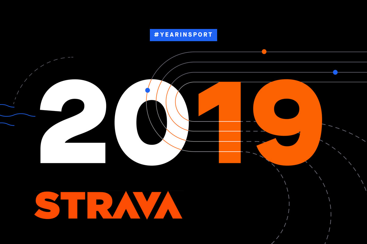 A year in sport 2019 from Strava