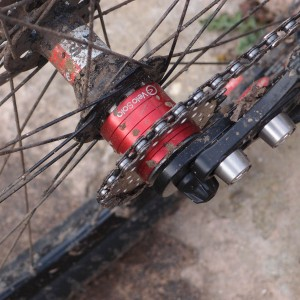 Red VeloSolo spacer kit