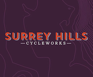 Advert for Surrey Hills Cycleworks